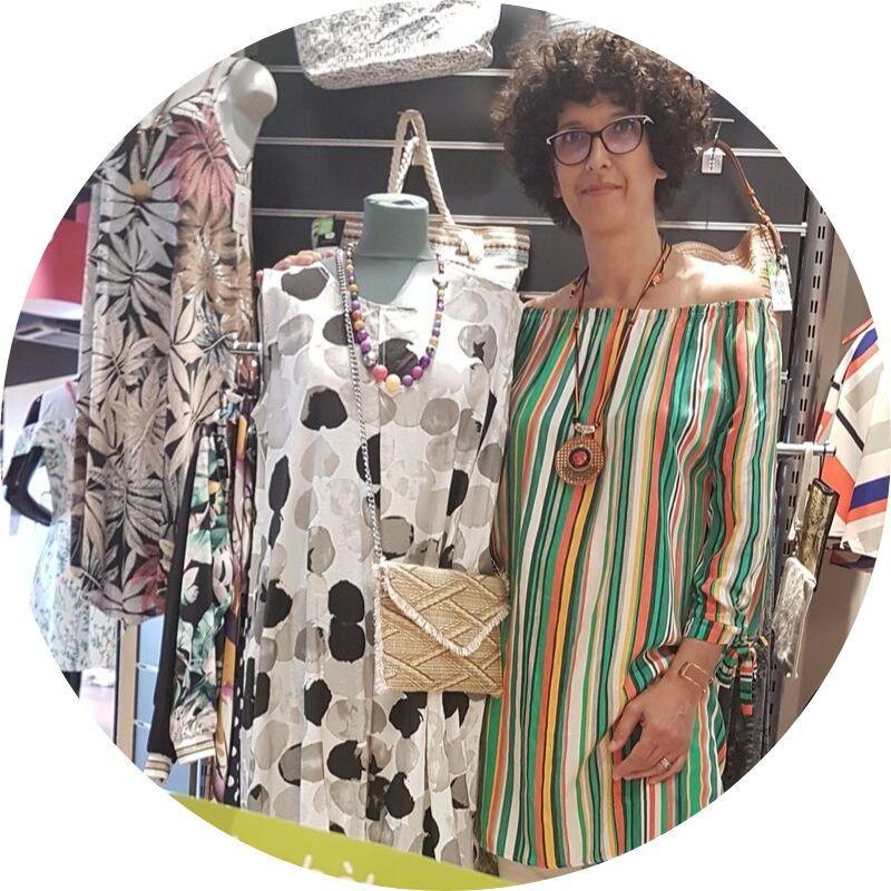 Cécile Borghi, La BoutiC à Domarin : vêtements pour femme spécialisé grande taille